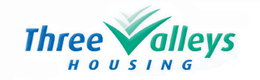 three valley housing logo